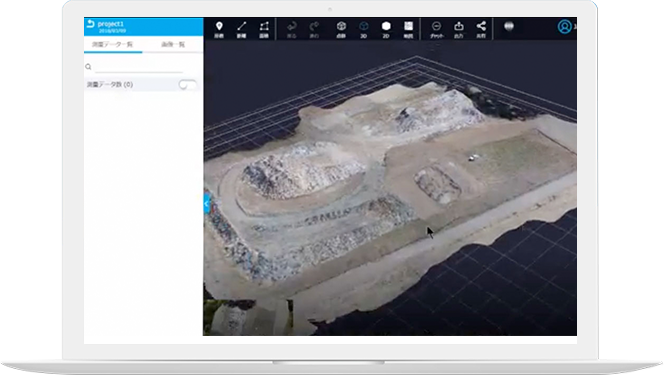 Automatically generate 3D modeling from the captured data